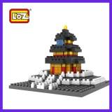 LOZ DIY Diamond Mini Blocks Figure Toy 9384 Temple of Heaven