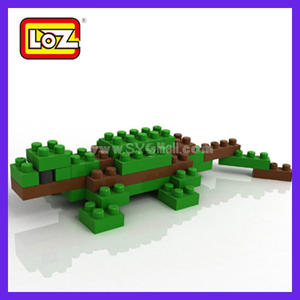 LOZ DIY Diamond Blocks Figure Toy 9285 Lizard
