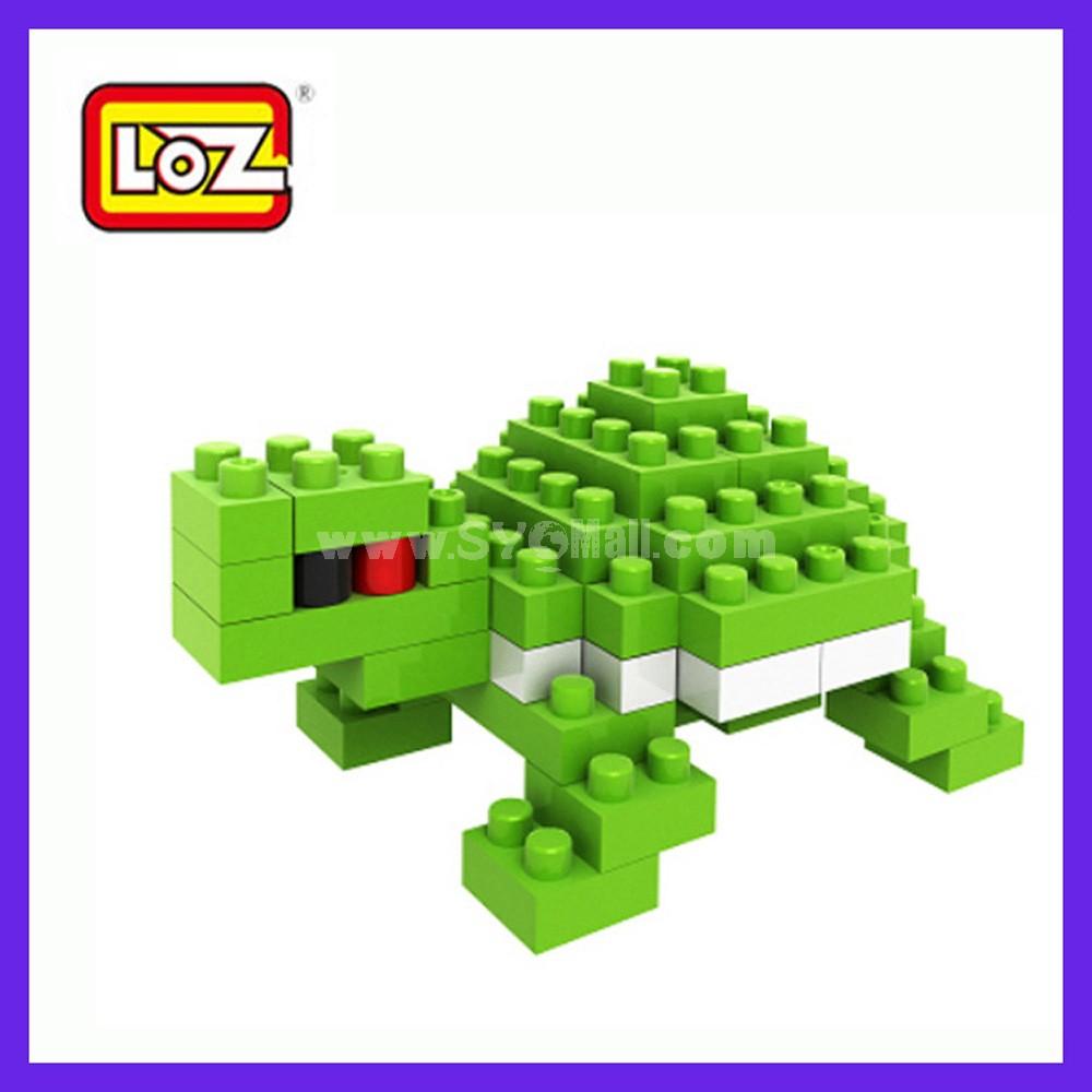 LOZ DIY Diamond Blocks Figure Toy 9284 Turtle
