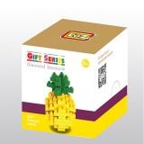 LOZ DIY Diamond Mini Blocks Figure Toy 9287 Pineapple