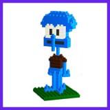 LOZ DIY Diamond Mini Blocks Figure Toy 9145 Squidward Tentacles