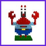 LOZ DIY Diamond Mini Blocks Figure Toy 9144 Mr. Krabs