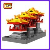 LOZ DIY Diamond Mini Blocks Figure Toy 9373 Daming Palace