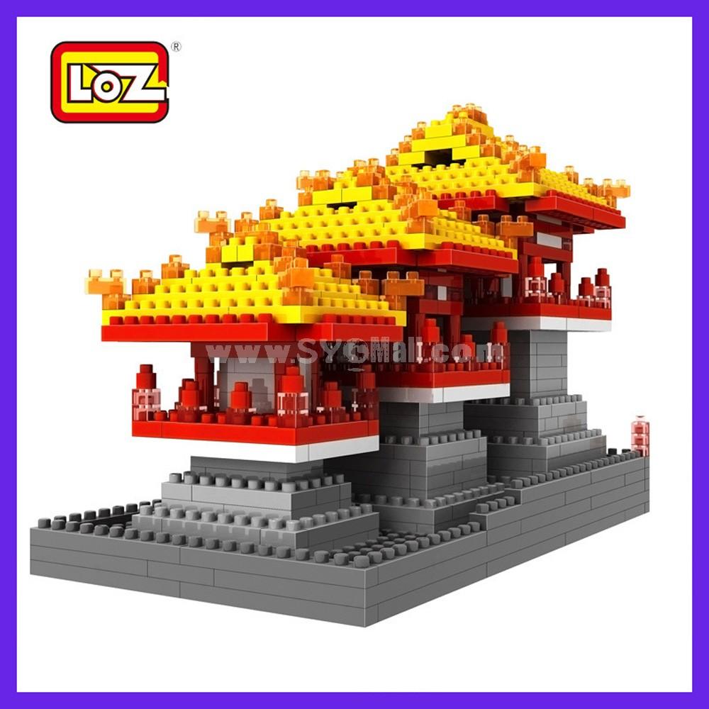 LOZ DIY Diamond Blocks Figure Toy 9373 Daming Palace
