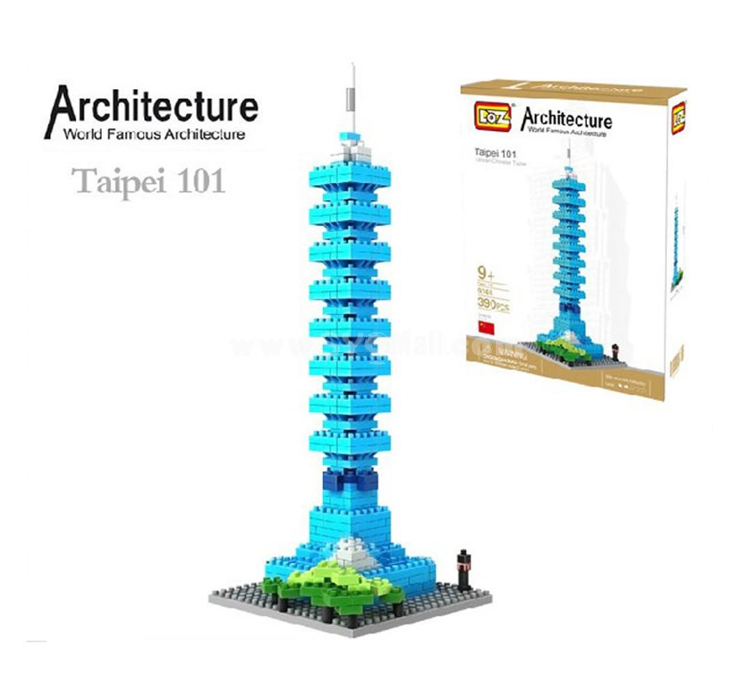 LOZ DIY Diamond Blocks Figure Toy 9365 Taipei 101