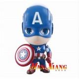 Wholesale - Q Version Of Captain America PVC Action Figures Toys