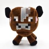 Wholesale - Minecraft Overworld Minecraft Baby Cow Plush Toy 16cm/6inch