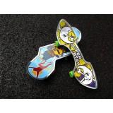 Wholesale - Anime Thumb Skateboard Children Toy 24Pcs Set