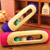 Wholesale - Fat Cat Cat Teaser Cat Toy Pet Toys Natural Sisal Scratching Post