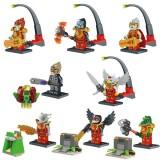 wholesale - Chima 2 Block Mini Figure Toys Compatible with Lego Parts 8Pcs Set 78067