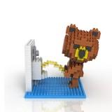 wholesale - LOZ DIY Diamond Mini Blocks Figure Toy Rilakkuma 350Pcs 9430