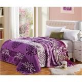 Wholesale - SIMOYO Purple Tree Fleece Blanket 59*79inch