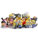 wholesale - Despicable Me 2 The Minions Action Figures Mini Figurines PVC Toys 14Pcs Set