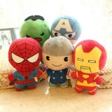 wholesale - Marvel's The Avengers Super Heroes Plush Toys Stuffed Animals Set 5Pcs 20cm/8Inch Tall