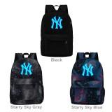 Wholesale - MLB New York Yankees NYY Luminous Backpacks Shoulder Rucksacks Schoolbags