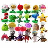wholesale - 24Pcs Plants VS Zombies Plush Toys Stuffed Animals 15-20cm Tall