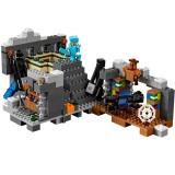 wholesale - MineCraft Lego Compatible Building Blocks The End Portal Mini Figure Toys 589Pcs 81124