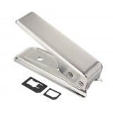 Wholesale - Stainless Steel Nano Sim Card Cutter for the iPhone 5/5G