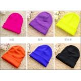 Wholesale - fluorescent color woolen hat