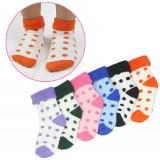 Wholesale - Winter Thicken Baby Spots Decor Warm Keeping Cotton Socks