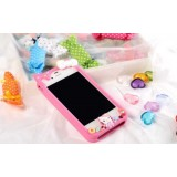 Wholesale - Cartoon Character Silicone Case for iPhone 4/4s