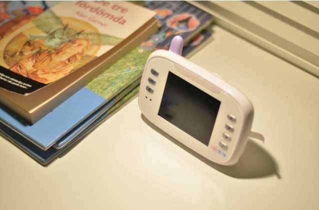 3.5 Inch 2.4GHz Digital Wireless Babymonitor