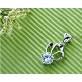 Wholesale - Glamour Crown Cupronickel Pendent