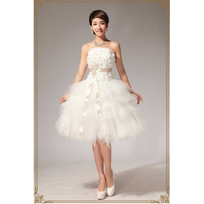 https://www.orientmoon.com/37886-thickbox/strapless-short-mini-flora-lace-up-tulle-wedding-dress-lf112.jpg