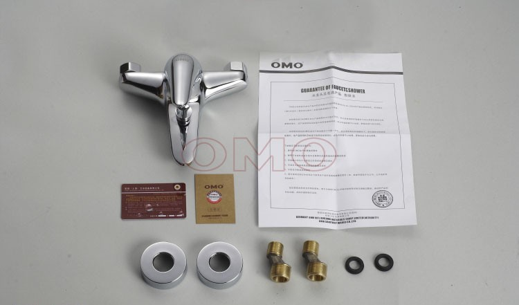 OMO All Brass Single Handle Tub Faucet with Valve and Water Outlet B-85008CP