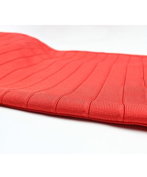 HERVE LEGER Slim Bandage Party Dress Orange