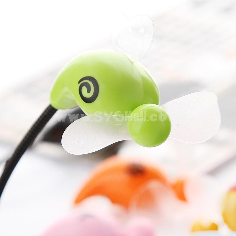 USB Mini Fan Cartoon Style Flexible (K1031)