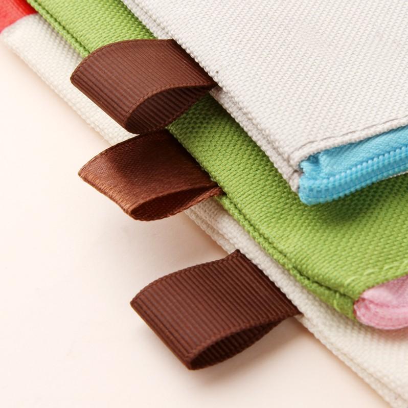 Pencil Bag Stationery Bag Cartoon Girl Oxford Cloth (W2123)