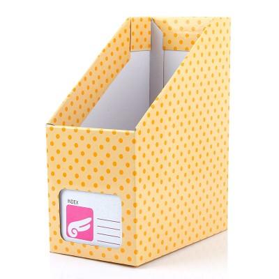 https://www.orientmoon.com/59137-thickbox/desktop-file-storage-box-dots-design-yellow-paper-diy-w1168.jpg