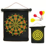 Wholesale - Magnetic Dart Board Set Hanging Wall Double Sided 12in