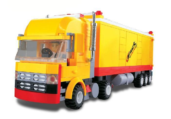 WANGE High Quality Blocks Truck Series 362 Pcs LEGO Compatible 37102
