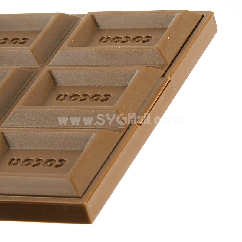 Makeup Mirror Chocolate Style Open-Close Type (P1124)