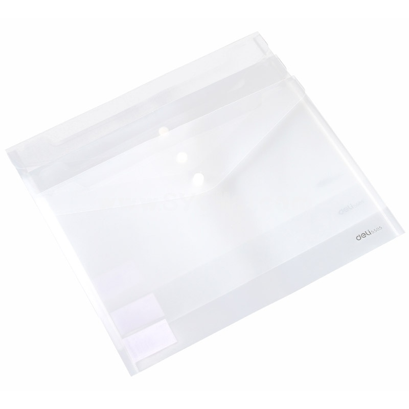 Deli Storage Bag/Pouch for Files/Magnizes Transparent Colorless PVC 5-Pack (W2058)
