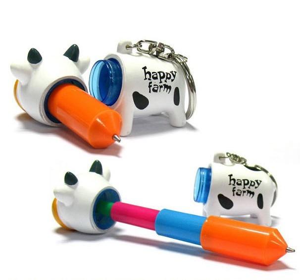 Creative Animal Pattern Flexible Pen 2Pcs