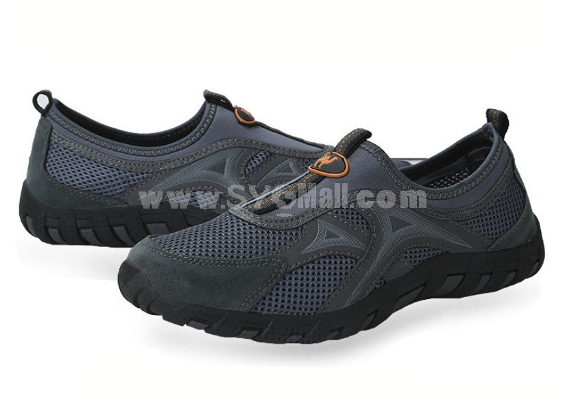 CANTORP Men's Breathable Air Mesh Outdoor Leisure Low Top Shoes