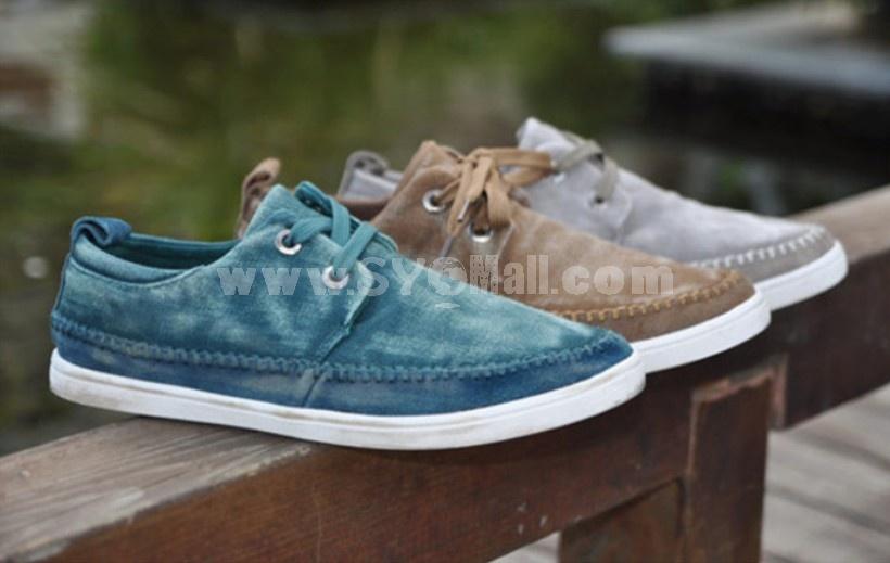 GOUNIAI Men's Fashion Canvas Casual Shoes