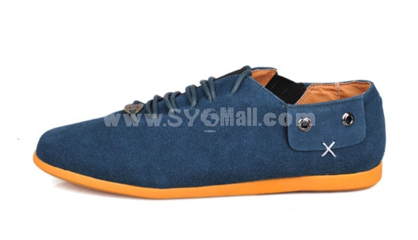 GOUNIAI Men's Fashion Leather Casual Shoes