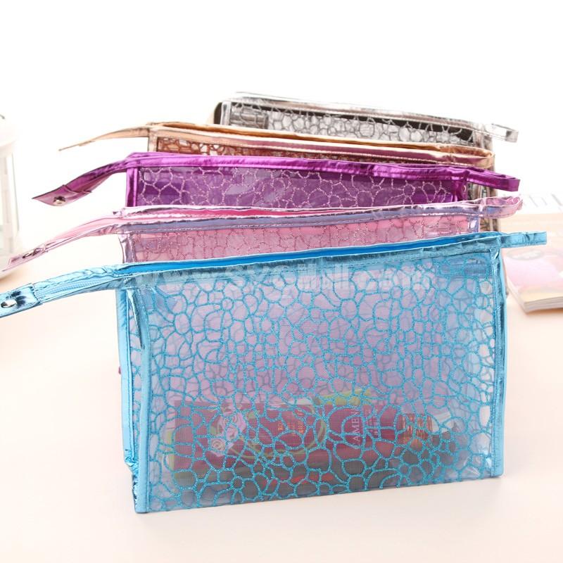 Handbag/Storage Bag/Cosmetic Bag Screen Mesh Transparent Waterproof (SN2033)