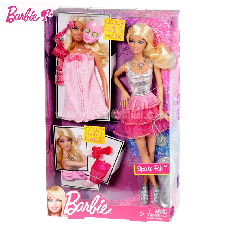 X7891 Barbie Spa to Fab Set