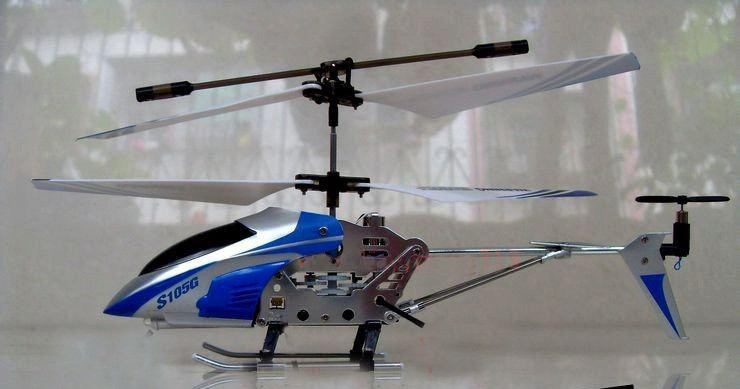 Syma 3-Channel S105 22CM Mini Indoor Co-Axial Metal Frame Helicopter