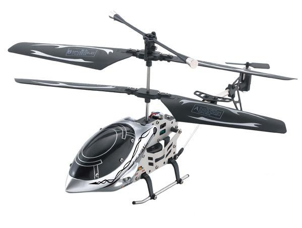 9809 3CH 23CM RC Remote 3CH Alloy Helicopter