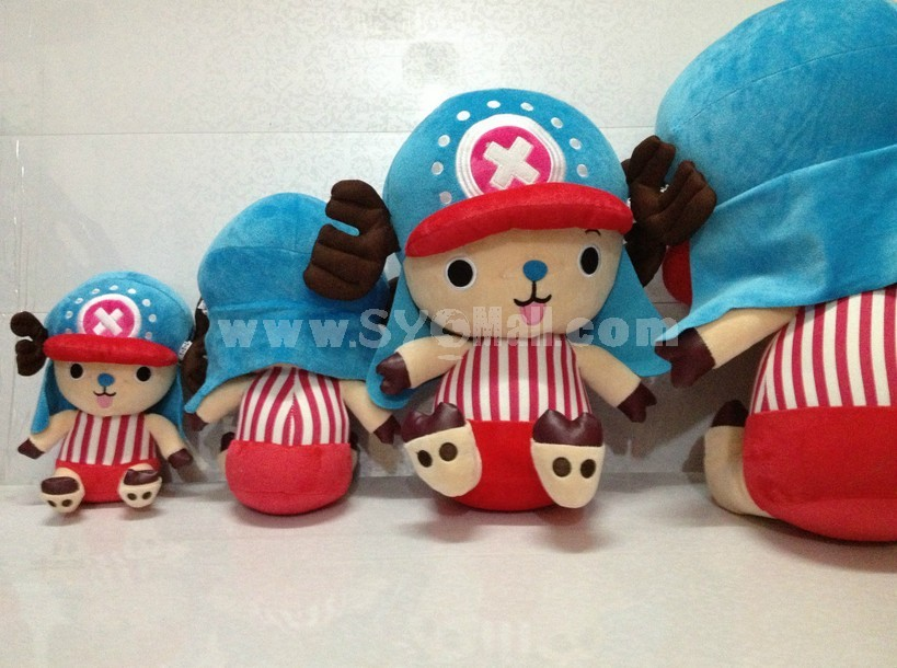 "One Piece Chopper 55cm/21"" PP Cotton Stuffed Toys"