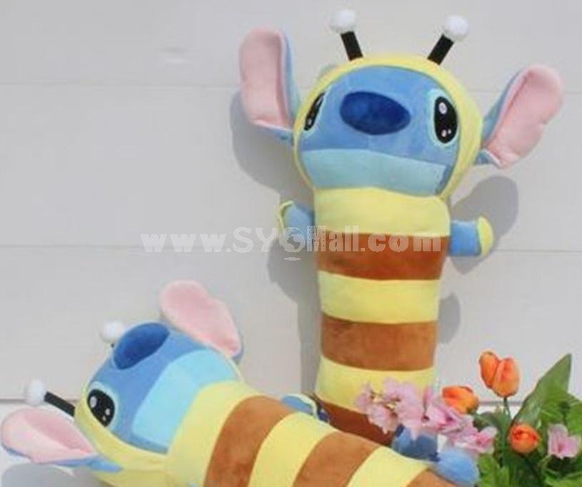 "Bee Stitch 55cm/21"" PP Cotton Stuffed Pillow"