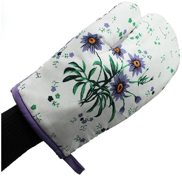 Thickened Oven Mitt with Heat Pad