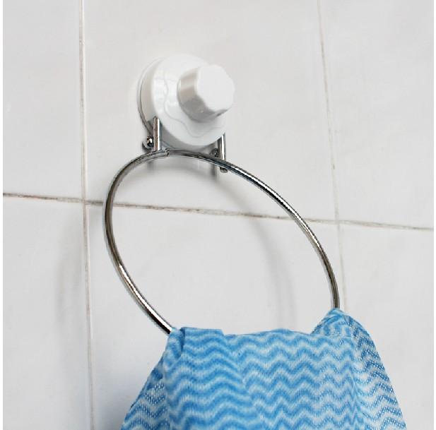 Powerful Sucker Towel Ring for Kitchen/Bathroom