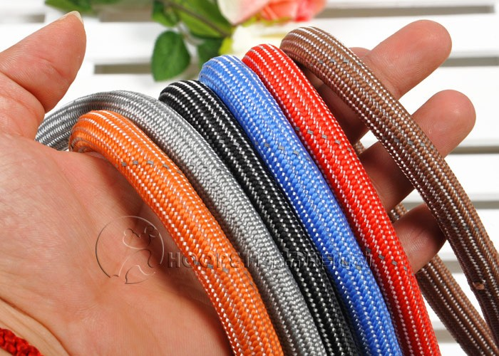 Nylon Woven Leash for Small/Middle-sized Dogs Soft Foam Handle